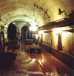 Maginot line (underground bunkers) in France