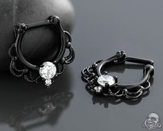 Blackline Fairytale septum clicker
