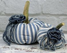 Items similar to Fabric Pumpkin Set Off White Warm Natural Rustic Cottage Chic Fall Thanksgiving Centerpiece Table Decoration Wedding Favor Place Setting on Etsy Fabric Pumpkins, Fall Pumpkins, Creative Pumpkins, Pumpkin Wedding, Pumpkin Stem, Thanksgiving Centerpieces, Quilt Batting, Cottage Chic, Rustic Cottage