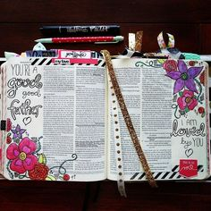 "Romans chapter 8 has been one of my favorite chapters in the Bible since high school. I often open my Bible to the comfort I find in the truth of Romans 8:28. More recently Romans 8:15 has been my go to truth. It says ""for you did not receive the spirit of slavery to fall back into fear but you have received the spirit of adoption as sons by whom we cry Abba! Father!"" When I read these scriptures I find comfort and rest in my Father and His goodness and love for me. #illustratedfaith…"