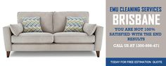 Call EMU Cleaning Services to keep your upholstery clean, hygienic, healthy, and beautiful always!