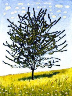 Ferdinand Hodler The Cherry Tree ca. 1906