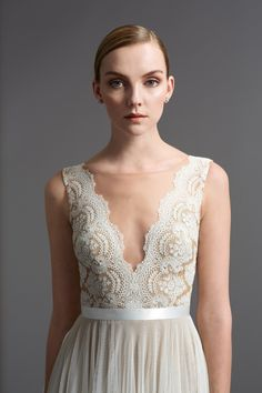 Watters Santina gown #watters #wedding #weddingdress www.pinterest.com/wattersdesigns/ Watters & Wtoo Bridal Collection available now at www.mirabridal.com
