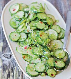 Sesame-Cucumber Salad Recipe
