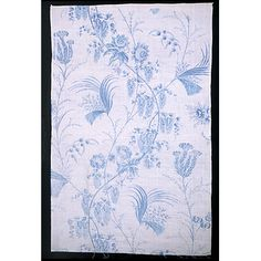c.1775, Cotton, plate-printed in china blue