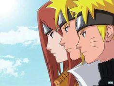 Uzumaki family Uzumaki Family, Naruto Family, Boruto, Dan Phantom, Blue Exorcist, Noragami, Tokyo Ghoul, Anime Art, Fictional Characters