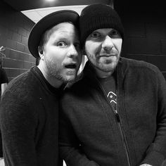 #Repost @Shinedown: Mr. @zmyersofficial and @thebrentsmith #falltour2016 #backstage #zachmyers #brentsmith #shinedown   via Instagram http://ift.tt/2f5xSwq  Shinedown Zach Myers