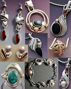 Mixed Metal Jewels: August 2013
