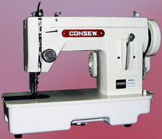 94 best sewing machine using images on pinterest sewing machines consew sewing machines heavy duty fandeluxe Image collections