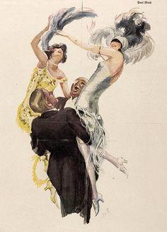 Paul Rieth, Jugend magazine, 1925.