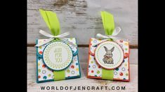 Stampin' Up! A Good Day Triangle Treat Box