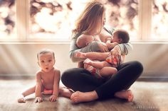 """Click here to get your free copy of The Biggest Collection of Breastfeeding Tips for Twin Moms: http://wp.me/p6U6Rm-2i   From Ursula Rose:  """"Feeding twins takes an eternity  There's no twin mum on earth that has ever uttered the phrase """"I'll just give the twins a quick feed,"""" because speed and twins and eating just don't go together. Feeds can take literally hours."""""""