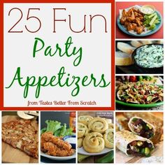25 Fun Party Appetizers | Tastes Better From Scratch