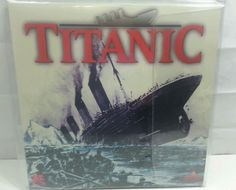 A&E TITANIC 2 LASERDISC SET