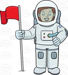 A female astronaut smiles after setting a flag on a foreign surface #air #astronaut #beamish #boots #bright #broadcast #cheerful #commander #content #contented #cosmonaut #crewmember #educatorastronauts #facialexpression #facialgesture #female #flag #glad #gravity #grin #grinning #happy #headgear #helmet #human #joyful #joyous #location #mission #nasa #orbit #outerspace #oxygen #pilot #pole #professional #program #rocket #smile #smiling #space #spaceflight #spacestation #spacesuit…