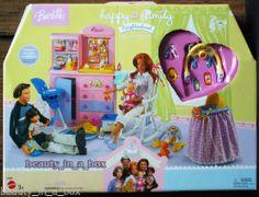 Happy Family Nursery Playset Only for Barbie Ken Doll Midge Nikki Alan Ryan Tot   eBay
