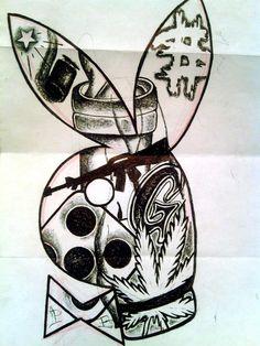 Gangster Drawings, Badass Drawings, Gangster Tattoos, Cholo Tattoo, Chicano Art Tattoos, Chicano Tattoos Gangsters, Arte Cholo, Cholo Art, Tattoo Design Drawings