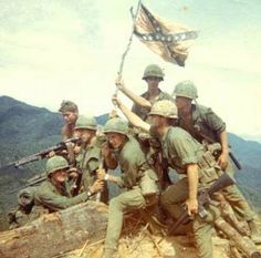 dog ate my tank - © Lt. Ed Heitov 1968 US soldiers of Company C, Cavalry Regiment, Cavalry Division, LZ Maureen, Vietnam Confederate States Of America, Confederate Flag, Confederate Statues, American Civil War, American History, American Soldiers, Tennessee, Vietnam War Photos, Vietnam History