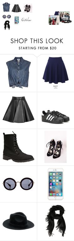 """autumn"" by namelessdar ❤ liked on Polyvore featuring Jean-Paul Gaultier, QNIGIRLS, MSGM, adidas, Wet Seal, Miu Miu, Gucci, New Look, tumblr and autumn"