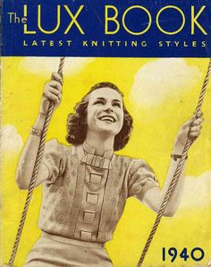 Lux Knitting for 1940 20 designs c.1940s  от SubversiveFemme