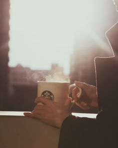 Mornings before seven, Catch the light just right, A cup of heaven.   Casi Cielo