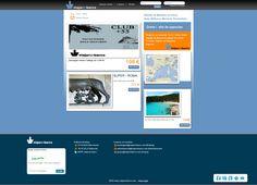 VIAJAR EN BARCO Página web para reservar viajes en Ferry. http://viajarenbarco.es/