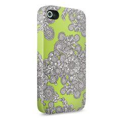 Mr. Dee Op-Art On iPhone 4 / 4S Slim Case