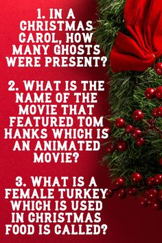You will definitely enjoy reading the Christmas trivia questions along with the answers. #triviaquestions #christmastrivia #christmastriviaquiz #triviaquiz #easychristmastrivia. Easy Christmas Trivia, Christmas Trivia Questions, Trivia Questions And Answers, Christmas Shows, Christmas Movies, Christmas Carol, Christmas Lights, Christmas Holidays, Christmas Wreaths