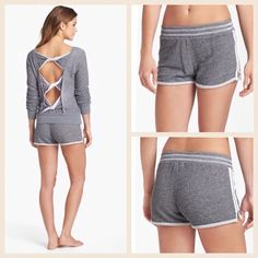 NEW!  Solow side-zip shorty shorts These incredibly soft, brand new shorts by Solow are absolutely perfect for the warmer months!  Versatile shade of charcoal easily pairs with your favorite tops & available in a size large.  Small mark on tag to prevent Retail return, not affecting look in any way!  Retail at $77 but available here for an amazing price!  No trades please. Solow Shorts