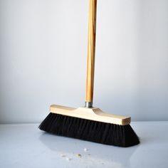 Image of horse hair broom