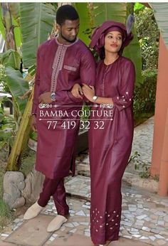 Traditional clothing Source by lilhygirl Couples African Outfits, African Dresses Men, African Wedding Dress, African Shirts, Latest African Fashion Dresses, Couple Outfits, African Print Fashion, Africa Fashion, African Attire