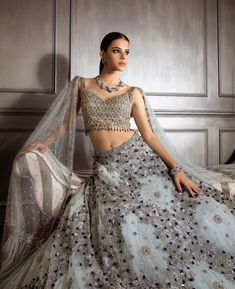 Engagement Dress For Female, Indian Engagement Dress, Engagement Dresses, Wedding Saree Blouse, Lehenga Wedding, Yellow Lehenga, Red Lehenga, Dress Indian Style, Indian Outfits