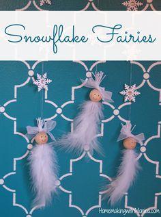 Snowflake Fairies Tutorial