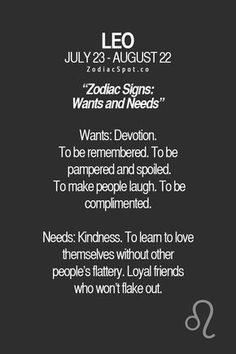 What are your Zodiac wants and needs?