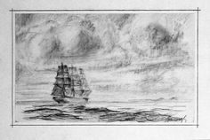 Marine fantasy :) originated from my fascination of tall ships