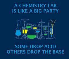 Drop acid, or drop the base? #chemistry
