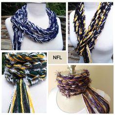 NFL Football Team Pippy Scarf by Stylinscarves.com
