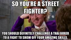 Martial arts memes and mma humor. Muay Thai
