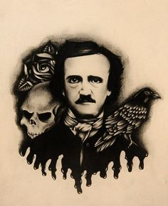 """In an article entitled """"Autobiographic Notes: Edgar Allan Poe"""" by E. Oakes, Poe was lynched by ruffians who avenged the death of a woman Poe had broken his heart. Another version claims that, in his alcoholism, Poe had taken too much and went out to wander the streets, where a group of thugs assaulted him and left him unconscious."""