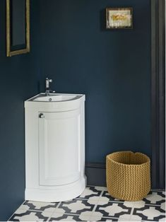 Details about Burlington Cloakroom corner vanity unit & basin, Optional colours & Chelsea Tap Cloakroom Toilet Downstairs Loo, Cloakroom Sink, Corner Bathroom Vanity, Understairs Bathroom, Cloakroom Ideas, White Bathroom, Bathroom Ideas, Corner Sink Unit, Corner Toilet