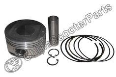 87.5MM 23MM Piston kit LINHAI LH188MR 500cc ENGINE PISTON KIT ASSEMBLY PISTON RINGS #Affiliate