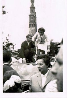 Robert and Ethel Kennedy in Czestochowa, Poland,  June 1964  Attorney General Robert F. Kennedy and his wife Ethel was taken in Czestochowa, Poland in June 1964 by the family of Mrs. Krystyna Szczyrkowska.