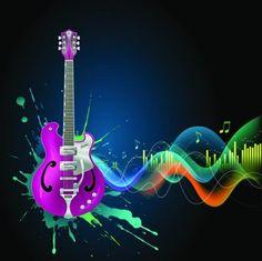 Cool Music Vector -3 tema