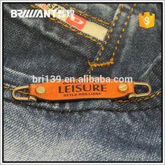 Em estoque PU etiqueta de couro do Metal para calças de brim bolsas-imagem-Etiquetas de tecido para roupas-ID do produto:60312125532-portuguese.alibaba.com
