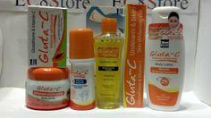 6 Gluta C Intense Whitening Glutathione Set Lotion Creams Toner, papaya soap Papaya Soap, Vitamin C, Body Lotion, Whitening, Body Care, Health And Beauty, Alcohol, Personal Care, Cream
