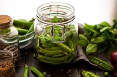pickled sugar snap peas with mint quick pickled sugar snap peas with ...