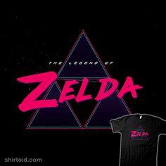 Zelda Synthwave #gaming #thelegendofzelda #triforce #videogame #wizards
