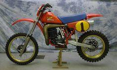 1983- Honda RC500 works bike