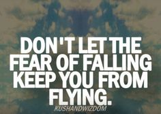 Don't Be Afraid To Fly.