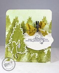 Hang a Shining Star Christmas Card